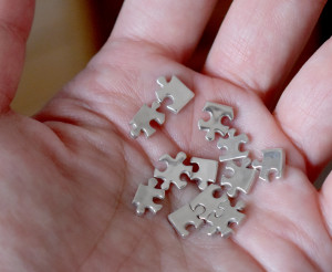 純銀パズル